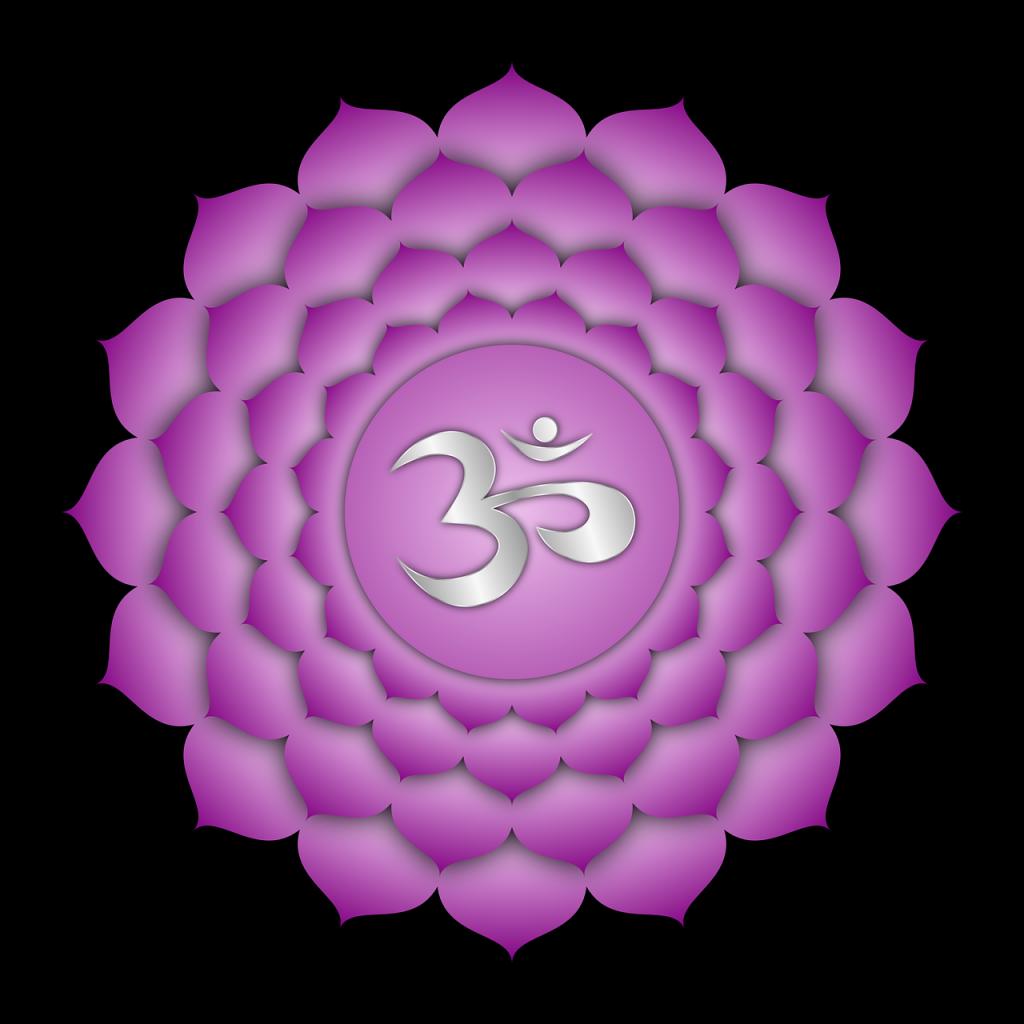 Peaceful Zen Warrior-third-eye-crown