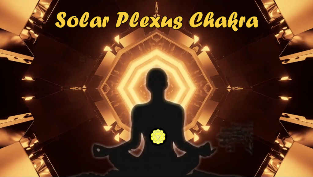 peaceful zen warrior-Solar plexus chakra